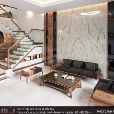 30 mẫu thiết kế nội thất phòng khách nhà ống nhỏ hẹp hiện đại