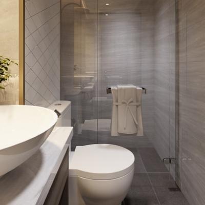 Cách Bố Trí Phòng Tắm, Nhà Vệ Sinh Hợp Phong Thủy