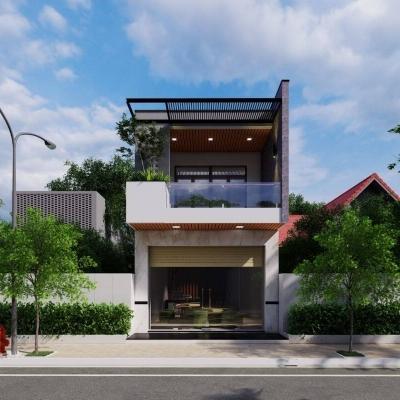 Top 5 Mẫu Thiết Kế Nhà Ống 2 Tầng 3 Phòng Ngủ Đẹp 2021