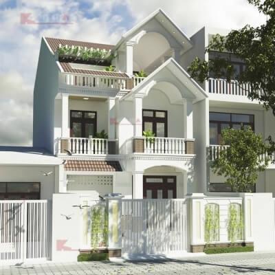 Ưu Điểm Vượt Trội Của Nhà Phố 3 Tầng Mái Thái | Thiết kế Kiến Thái