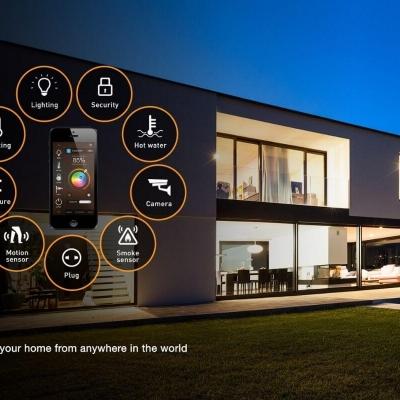 Xu Hướng Thiết Kế Nhà Thông Minh Smart Home
