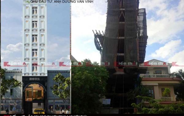 Thi Công Khách Sạn Anh Dương Văn Minh