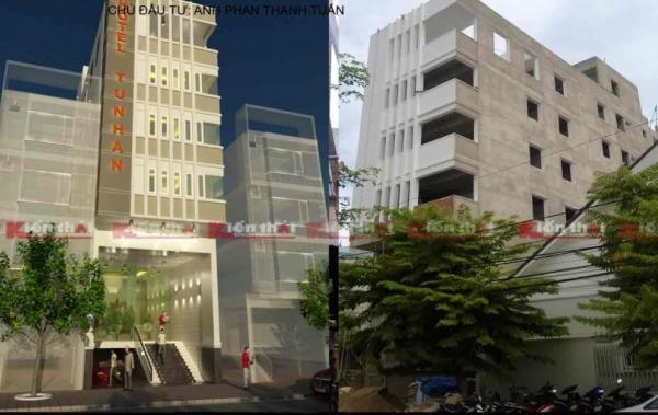 Thiết Kế Thi Công Khách Sạn Anh Phan Thanh Tuấn